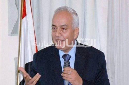 الدكتور رضا حجازي رئيس قطاع التعليم العام