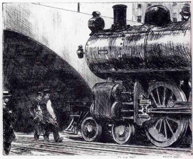 إدوارد هوبر، القاطرة، 1922