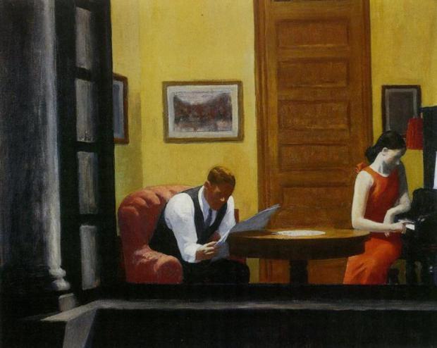 إدوارد هوبر، حجرة في نيويورك 1932