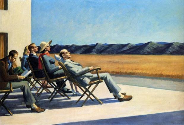 إدوارد هوبر، أناس في الشمس 1963