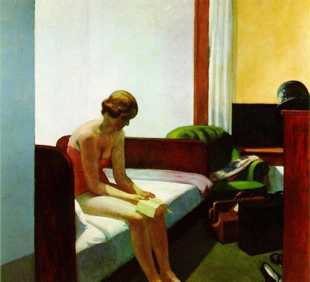 إدوارد هوبر، غرفة في فندق 1931