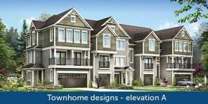 Townhome Design - Elevation B