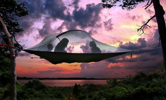 Floating Tree Tent
