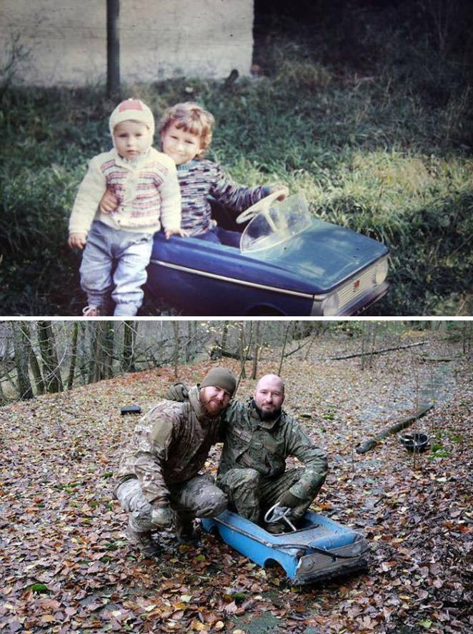 Two Brothers Return To Their Abandoned Car In Pripyat