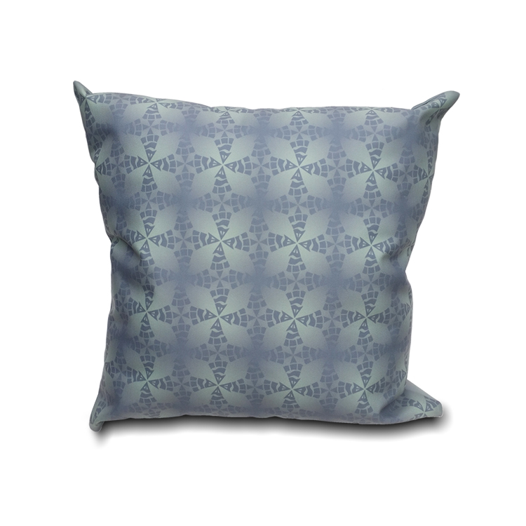 Stingray Pattern Printed Pillow