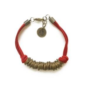 Stack Bracelet Red