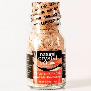 Peruvian Style Spiced Peruvian Pink Salt