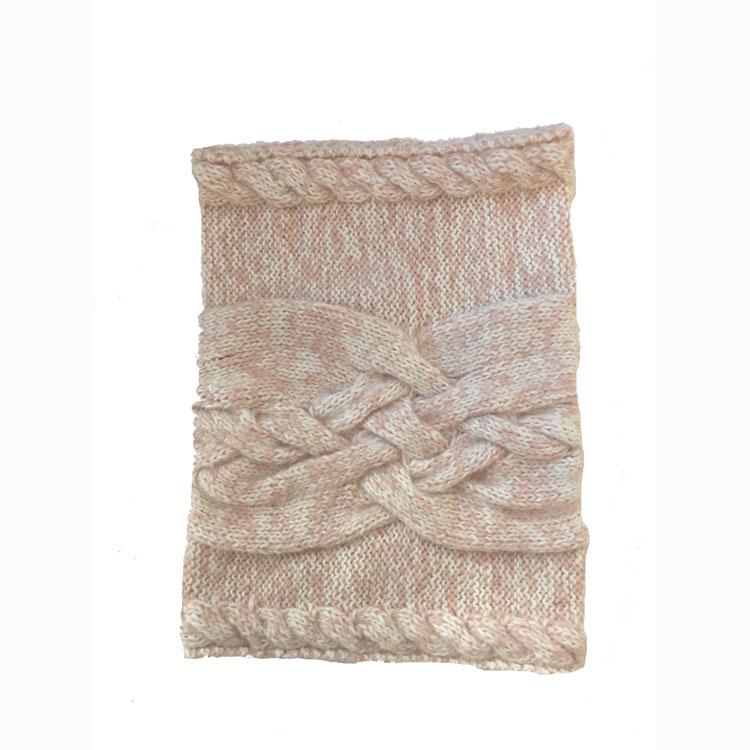 Cable Neck Warmer Alpaca Wool