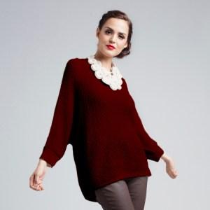 Gaby Pullover Sweater in Alpaca wool