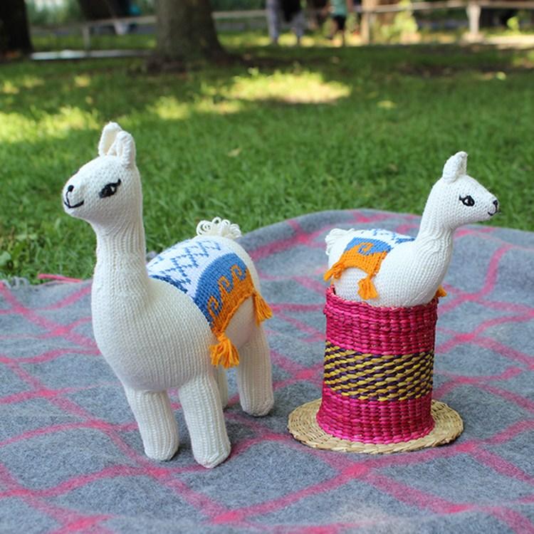 Llama Cotton Toy