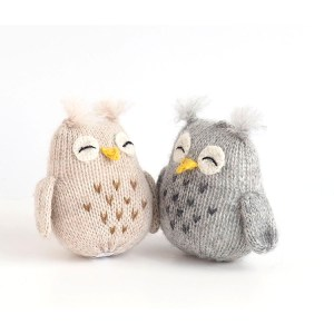 Owl Ornament Set Three Alpaca & Fair Trade