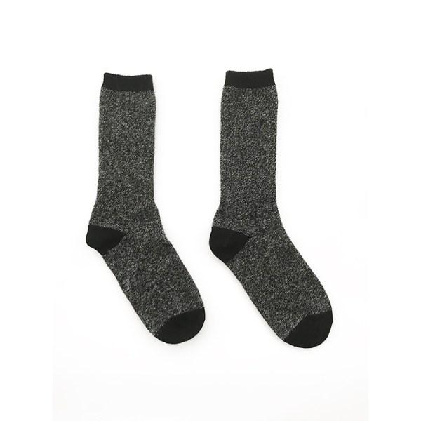 black alpaca wool socks