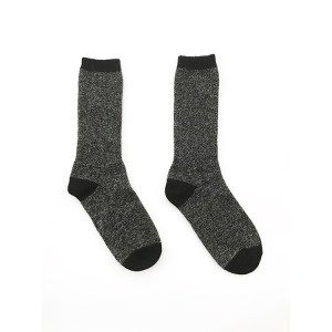 black alpaca wool socks