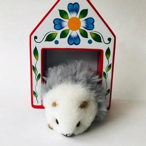 Alpaca Hand Made Guinea Pig toy
