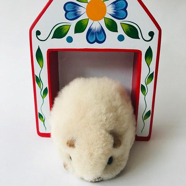 Alpaca Hand Made Guinea Pig toy- Cucha