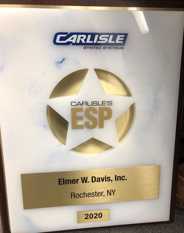 2020 ESP Carlisle Award