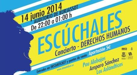 Burjassot acogerá un concierto de Amnistía Internacional