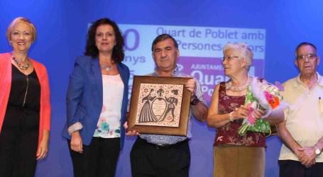 Quart de Poblet rinde homenaje a la pareja que celebra este año sus Bodas de Oro