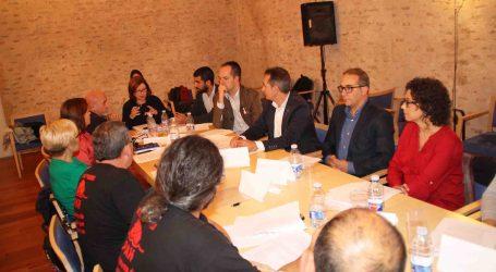 Reunión de alcaldes de l'Horta Sud con la Plataforma de Afectados por la Hipoteca