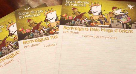 Se busca en Mislata la carta más original a los Reyes Magos escrita en valenciano