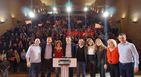 Ximo Puig preside el acto por la Igualdad celebrado ayer en Paterna