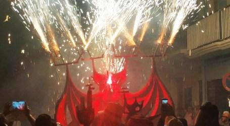 Bestiari de foc per commemorar el 25é aniversari de Els Dimonis de Massalfassar