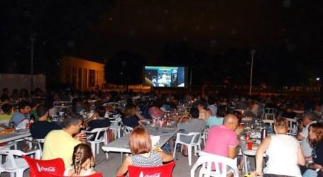 Cinema d'estiu a Silla