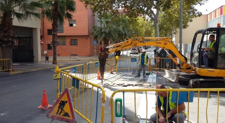 Paterna comença les obres contra inundacions en la part baixa de Lloma Llarga