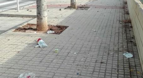 El PP de Benetússer denuncia que la suciedad se acumula en las calles