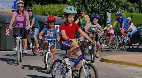 Alboraia potencia la bici durant la setmana europea de la mobilitat