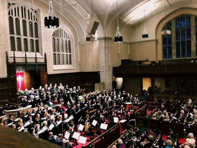 Elmer Iseler Singers, Amadeus Choir, Soloists and Orchestra performing Bach's B Minor Mass