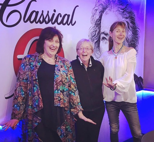 "Lydia Adams and Catherine Wyn-Rogers visit ""Classical Mornings"" with Jean (and Mike)"