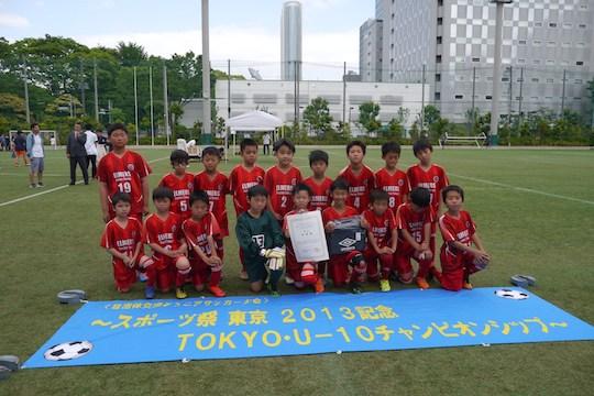 4年生(45期)の自治体交流Jrサッカー大会の様子が、東京中日スポーツ「みんなのスポーツ」に掲載されました!
