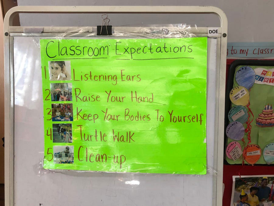 Little Friends School Classroom Expectations