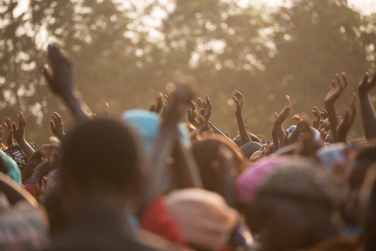 cheering, black people, hands-1031743.jpg