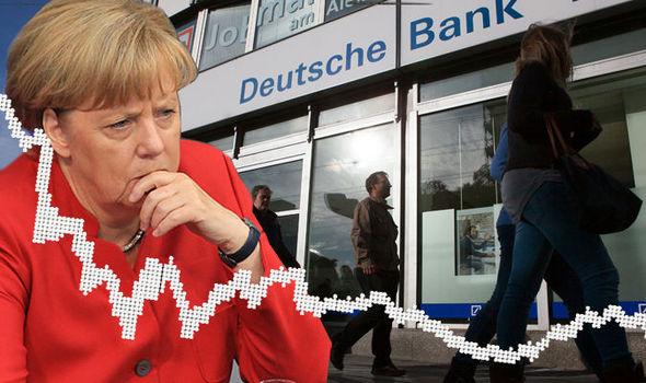 EXPERTOS: CAÍDA DEL DEUTSCHE BANK PUEDE PROVOCAR DERRUMBE FINANCIERO EUROPEO