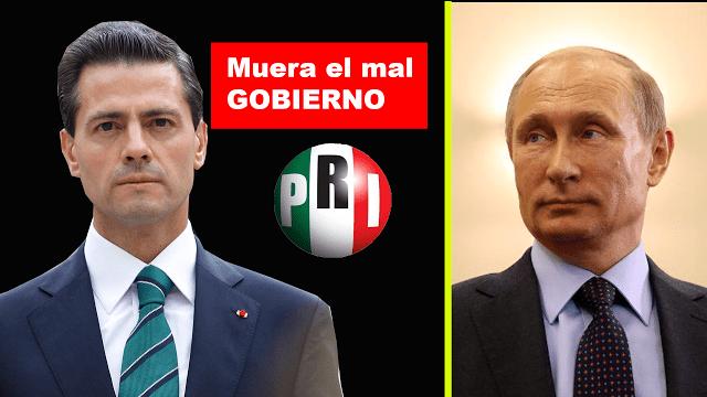 FIRMAN UNA PETICIÓN PARA QUE PUTIN INTERVENGA EN MÉXICO