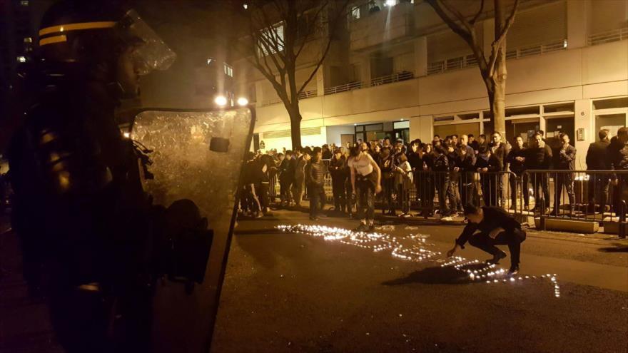 TENSIÓN ENTRE CHINA Y FRANCIA POR ASESINATO POLICIAL DE UN CHINO EN PARÍS