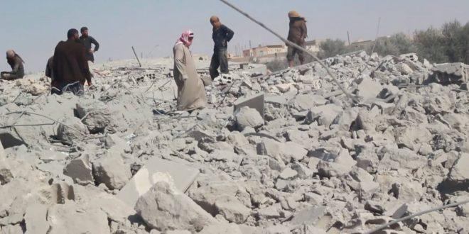 COALICIÓN LIDERADA POR EEUU BOMBARDEA UN COLEGIO EN SIRIA Y TURQUÍA ATACA ALDEAS