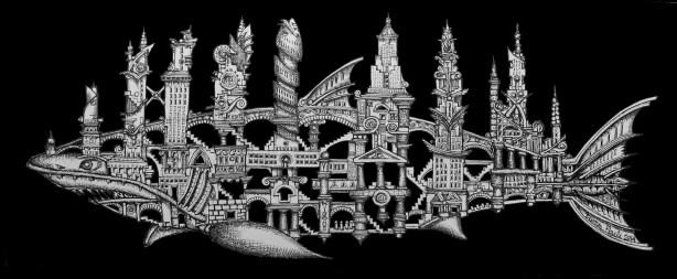 shark city-negra