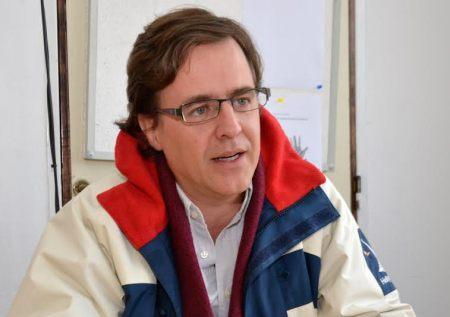 """""""Yo decidí dejar de quejarme en los asados y poder decirle a mis amigos que yo intenté o estoy haciendo algo para cambiar las cosas"""", aseguró Andrés Díaz Yofre, candidato a intendente de Mendiolaza."""