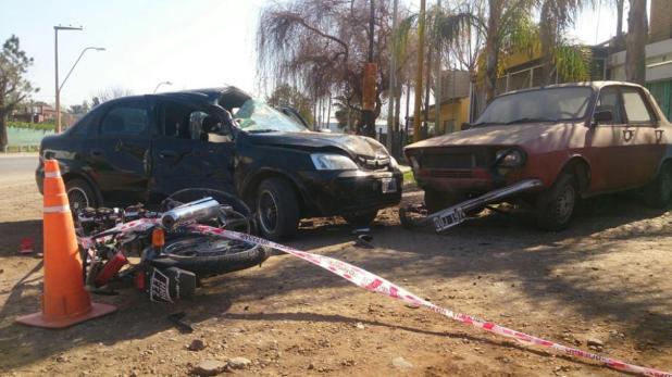 Cifras que preocupan: en el mes de agosto se registraron en Córdoba 21 accidentes de motos, mientras que durante todo el año 2015 sucedieron 277 accidentes.