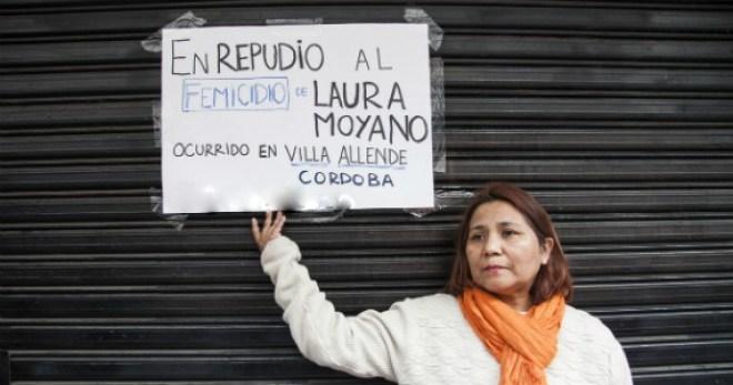 Laura Moyano, de 35 años, fue asesinada el pasado 25 de julio. Se la vio por última vez en un boliche de la zona de Villa Allende Parque.