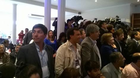 Funcionarios de todo el país se hicieron presente. Foto: El Milenio.