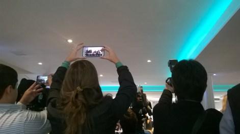 La prensa también fue protagonista. Foto: El Milenio.