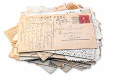 pila-aislada-de-postales-7784713