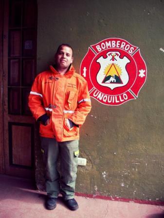 bombero Alberto Cano