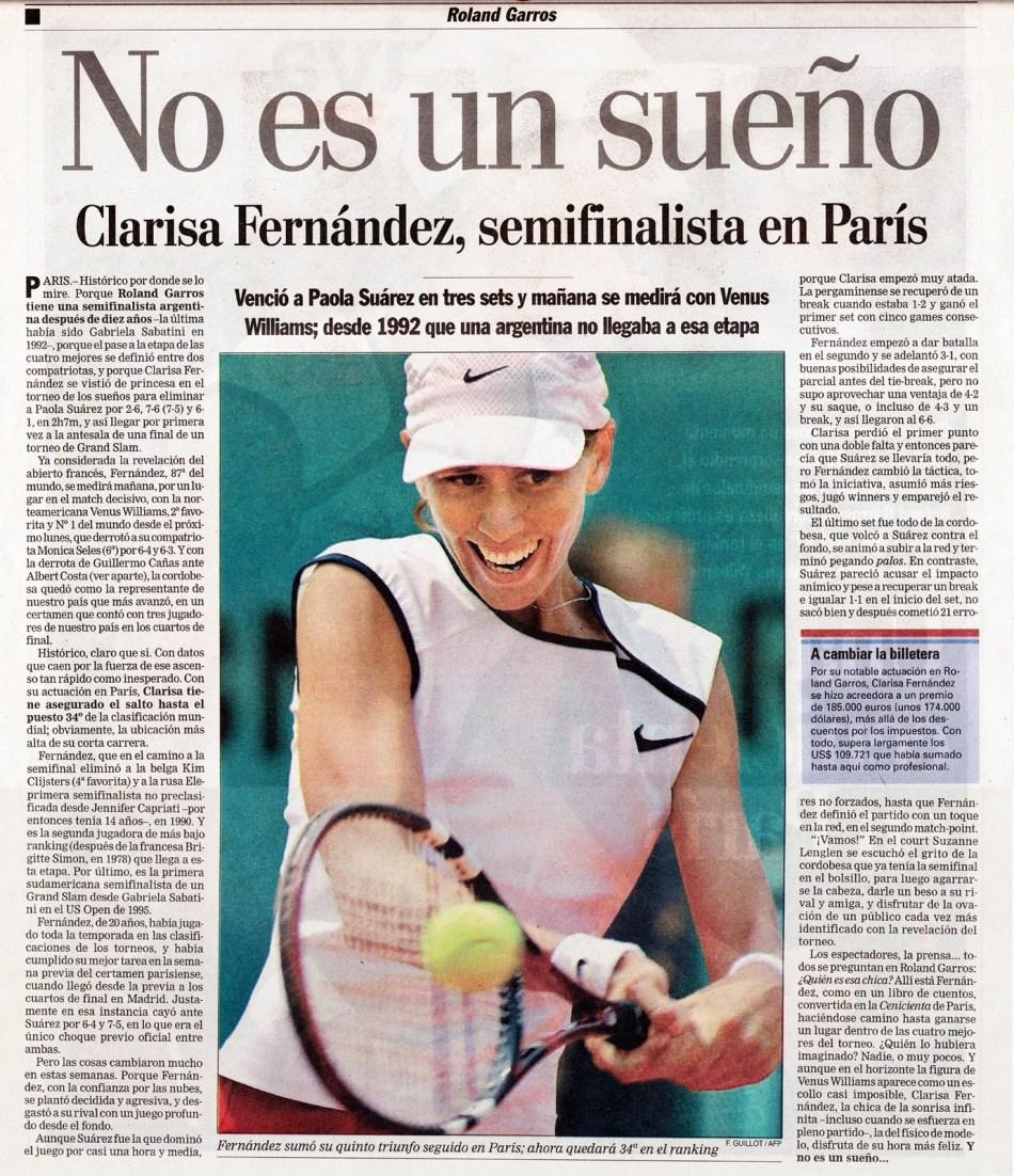 Clarisa Fernandez 1