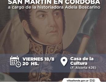 CóRDOBA, PIEZA CLAVE DEL CRUCE DE LOS ANDES