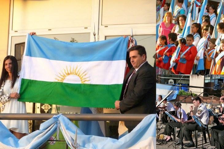Salsipuedes presentó su Bandera Oficial 5